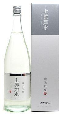 白瀧酒造 純米吟醸 上善如水 1800ml
