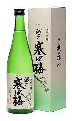 新潟銘醸 純米吟醸 越の寒中梅 720ml